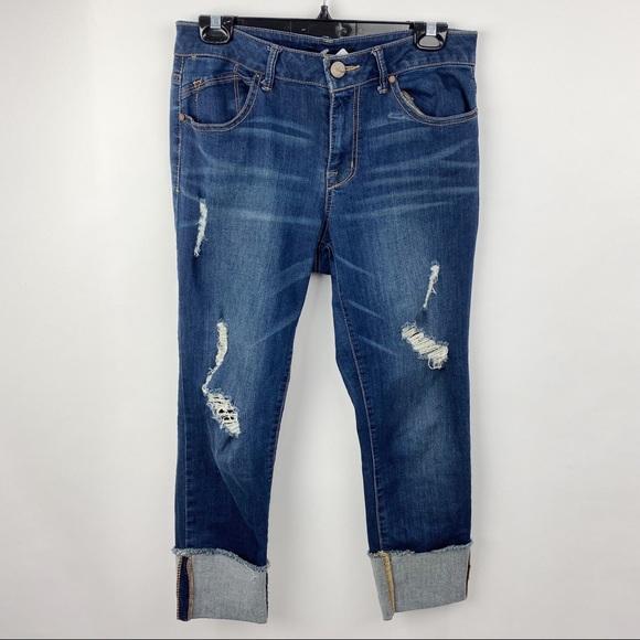 1822 denim jeans cropped